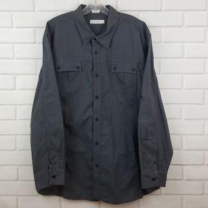 Calvin Klein Cotton Button Down Shirt